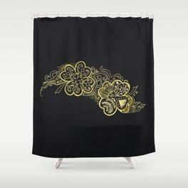 Four-leaf clover Shower Curtain