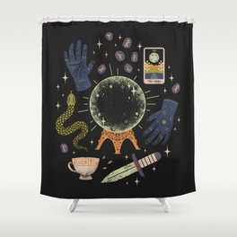 I See Your Future Shower Curtain