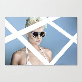 Reckess Blue Canvas Print