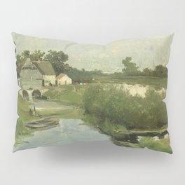 Summer Day By Johan Hendrik Weissenbruch | Reproduction Pillow Sham