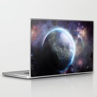 planet Laptop & iPad Skins featuring Planet by Øyvind Lien