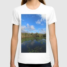 Blue Hour In The Everglades T-shirt