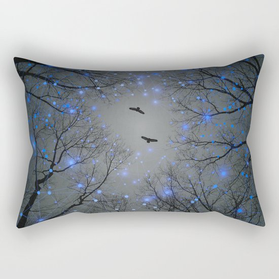 The Sight of the Stars Makes Me Dream Rectangular Pillow
