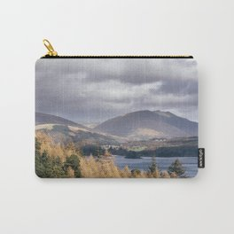 View over Derwent Water towards Blencathra. Cumbria, UK. Carry-All Pouch