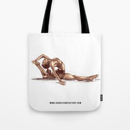Split Backbend Sketch Tote Bag