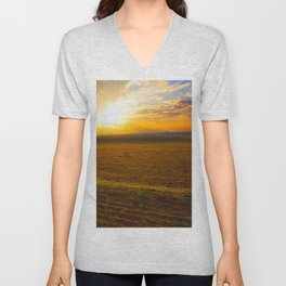 Sunset Ranch Unisex V-Neck