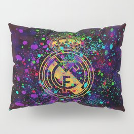 Real Madrid watercolor Pillow Sham