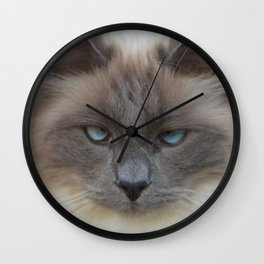 Blue Eyed Boy Wall Clock