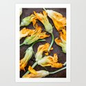 Zucchini Blossoms by loveandoliveoil