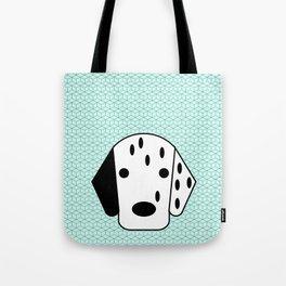 Pop Dog Dalmatian Tote Bag