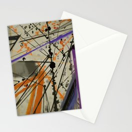 Abstract Composition 635 Stationery Cards