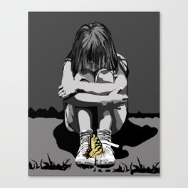 """God bless the child"" 101 Canvas Print"