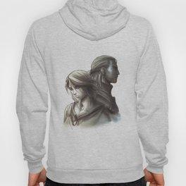 The Witcher 3 - Ciri / Geralt Artwork Hoody