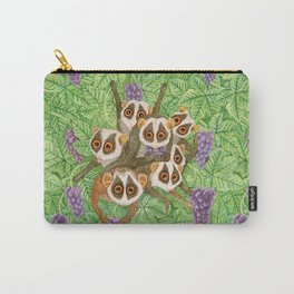 Loris Monkey Family Carry-All Pouch