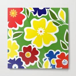 Flowers Fullfilled  Metal Print