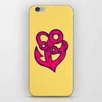 anchor iPhone & iPod Skins featuring Anchor by Artistic Dyslexia