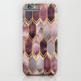 Dreamy Stained Glass 1 iPhone Case