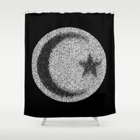 islam Shower Curtains featuring Many Paths of One Humanity - 4 of 7 - Islam by ART.KF