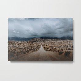 That Alabama Hills Road Metal Print