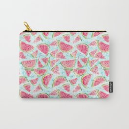 Fresh watermelon watercolor pattern Carry-All Pouch