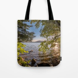 Secret Place By The Lake Tote Bag