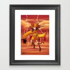 Jupiter Princess Framed Art Print