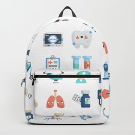 CUTE MEDICINE / SCIENCE / DOCTOR PATTERN Backpack