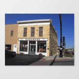 Hays, Kansas - Hardware Store 2009 Canvas Print