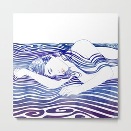 Water Nymph XXX Metal Print