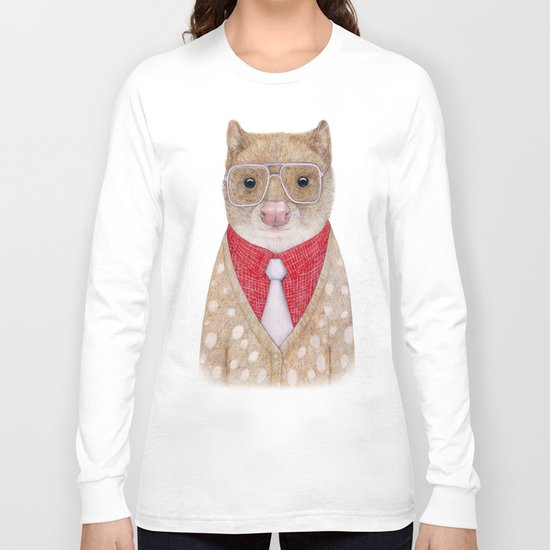 Spotted Quoll Long Sleeve T-shirt