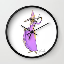 Hijab - The Hijabi Witch Wall Clock