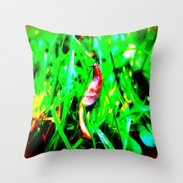 Grace in the Grass Throw Pillow