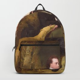 Joseph Wright of Derby - The Rev and Mrs Thomas Gisborne, of Yoxhall Lodge, Leicestershire Backpack