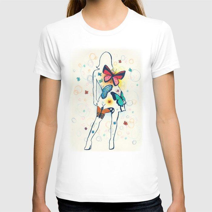 you give me butterflies T-shirt