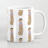 totem Mugs featuring Totem by Shinichi Imanaka