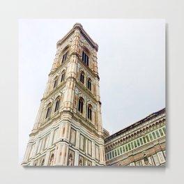 Florence Campanile Metal Print