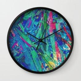 Polychromatic Euphoria Wall Clock