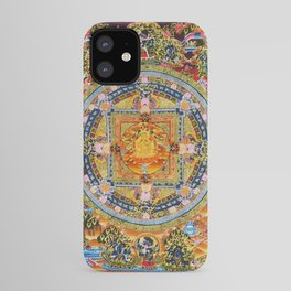 Mandala Buddhist 2 iPhone Case