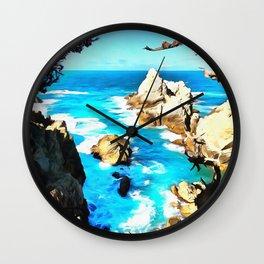 Point Lobos Wall Clock
