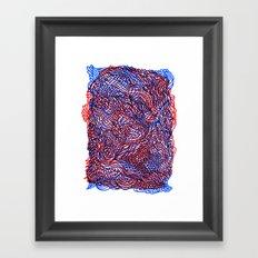 Down to earth Framed Art Print