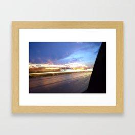 Speedify Framed Art Print