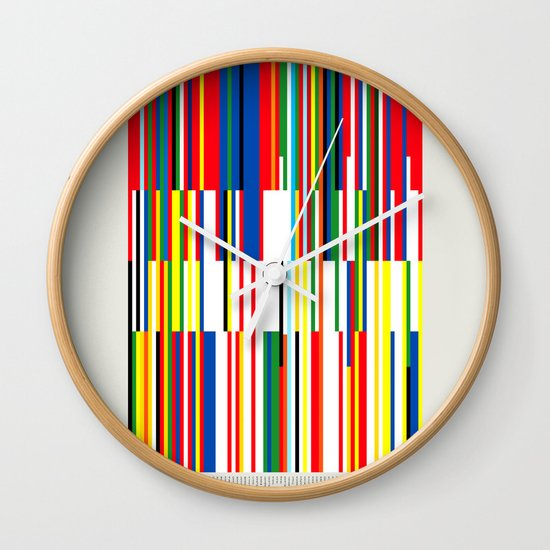 National Colors Wall Clock