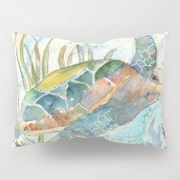 Underwater Fantasy Sea Turtle Pillow Sham