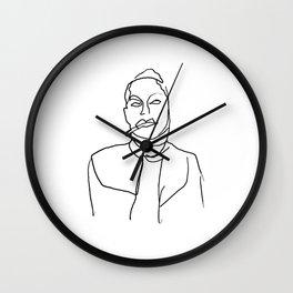 SMOKE SIGNALS Wall Clock