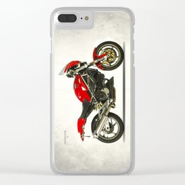 Monster S4 SPS Clear iPhone Case