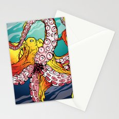 Tentacles & Utensils Stationery Cards