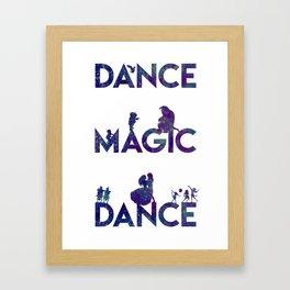 Magic Dance Framed Art Print