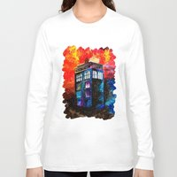starry night Long Sleeve T-shirts featuring STARRY NIGHT by Sophie