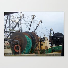 Working Waterfront Canvas Print