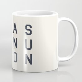 Sea Sex And Sun Coffee Mug